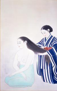 Hair combing (photo)